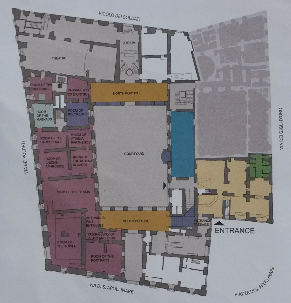 mappa piano terra