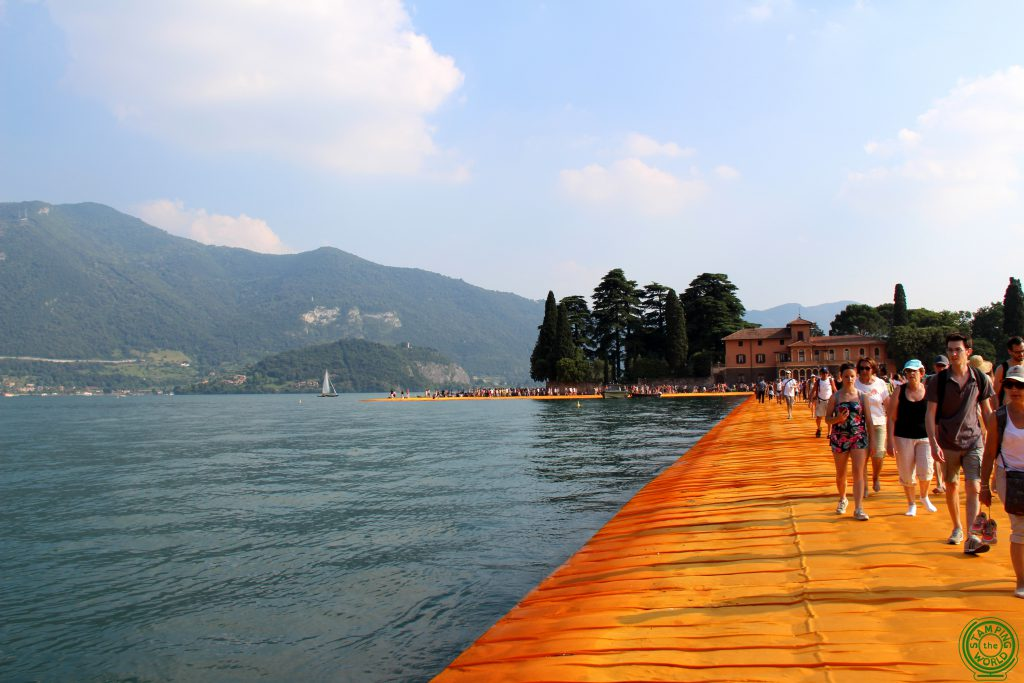 Floating Piers Isola di San Luca