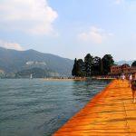 La mia disavventura al Floating Piers, ovvero come passare un giorno in viaggio da sola senza tecnologia