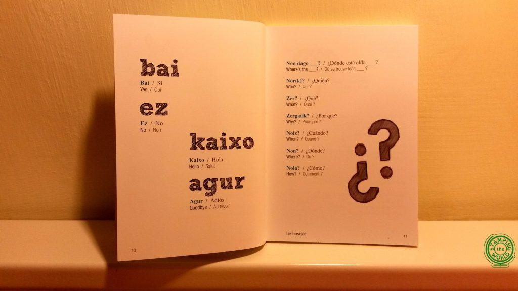 dizionario lingua basca