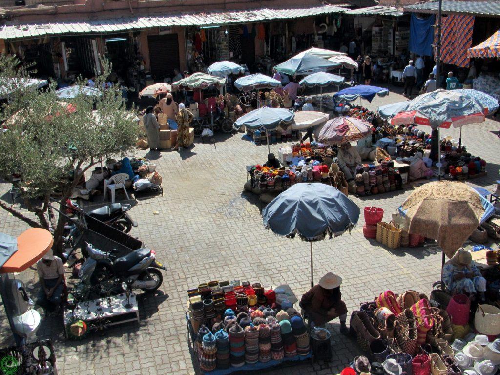 souk delle spezie a Marrakech