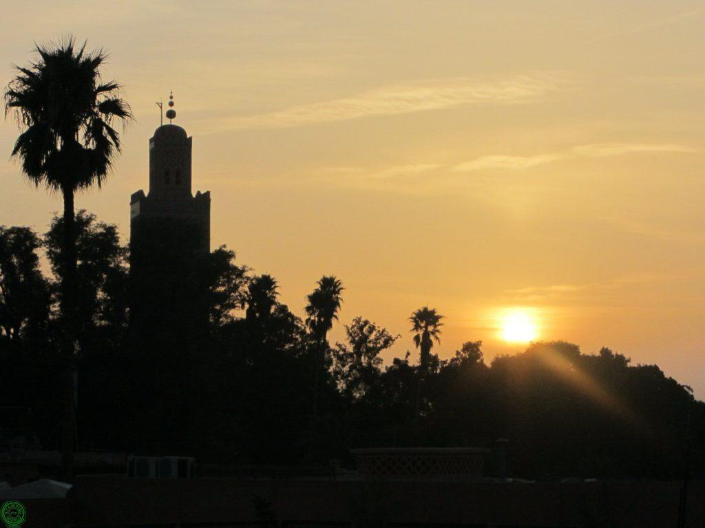 veduta di Marrakech