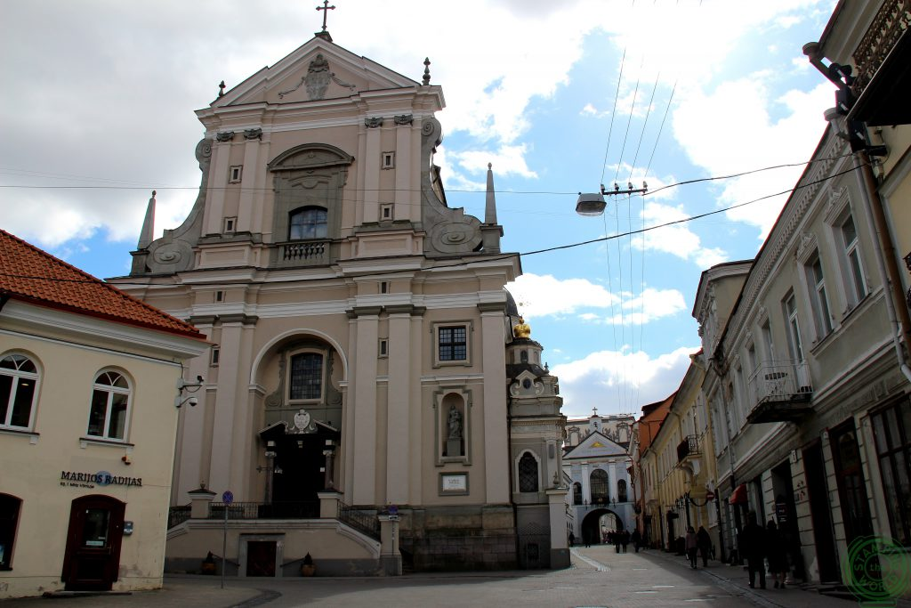 Chiesa di santa Teresa e Porta dell'Aurora