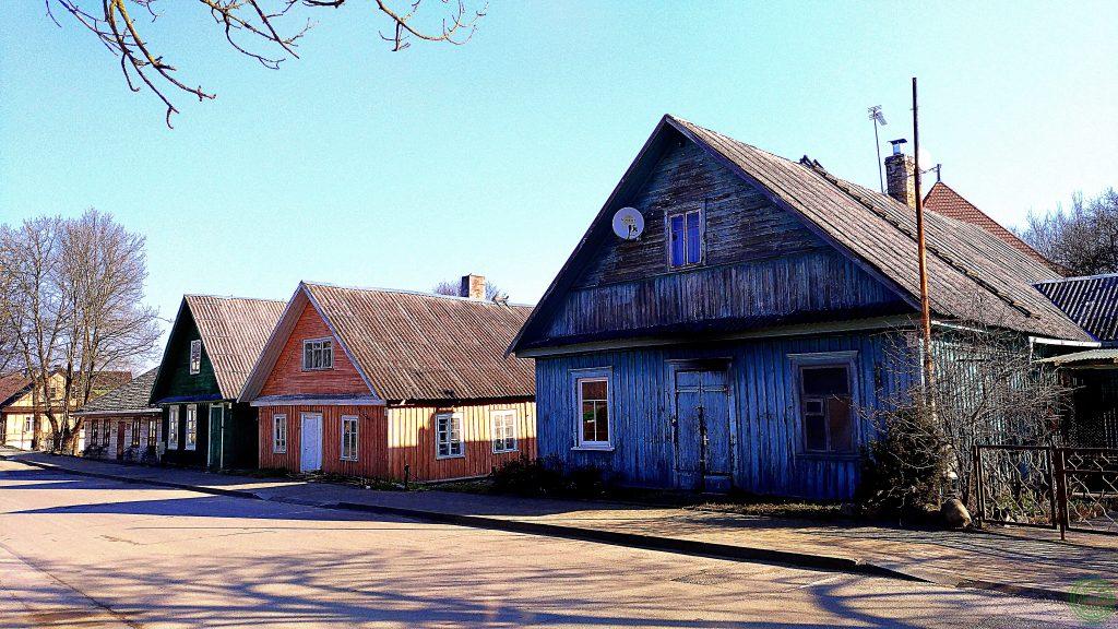 Casette di legno a Trakai