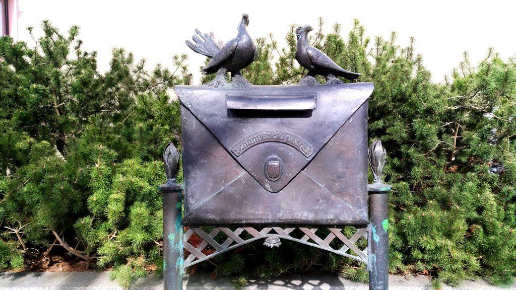 La vecchia cassetta postale