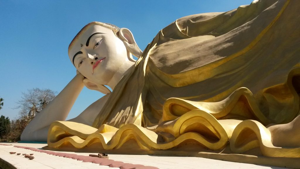 Buddha disteso - Bago