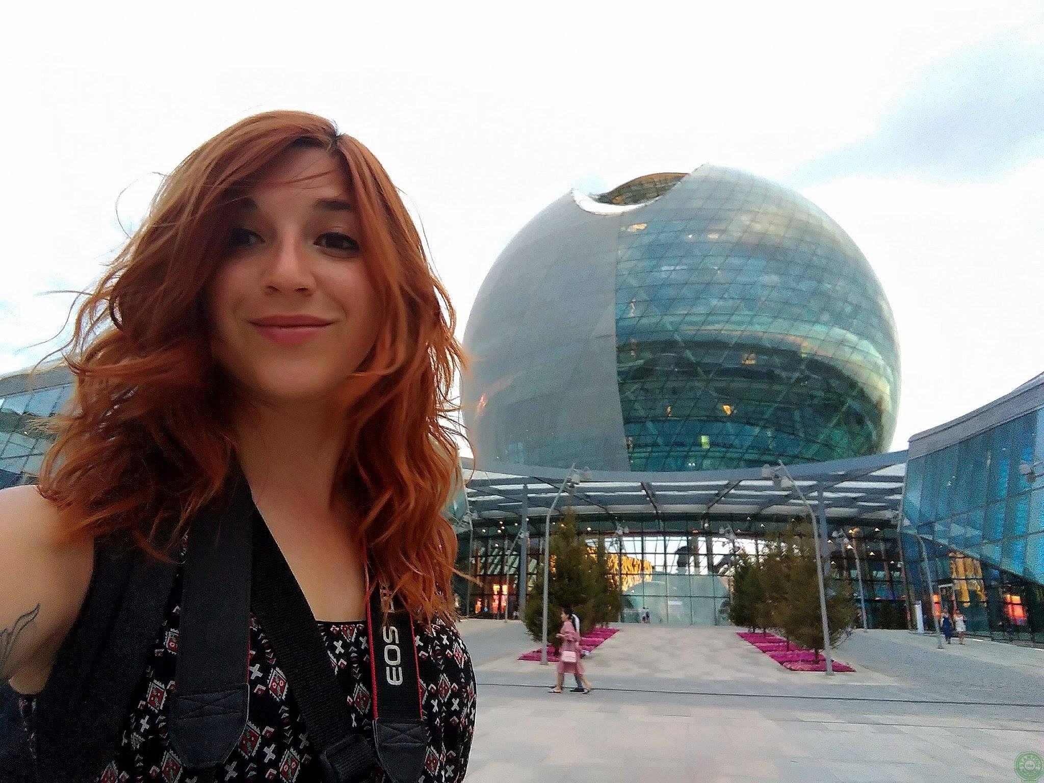 Io all'Expo 2017 Astana
