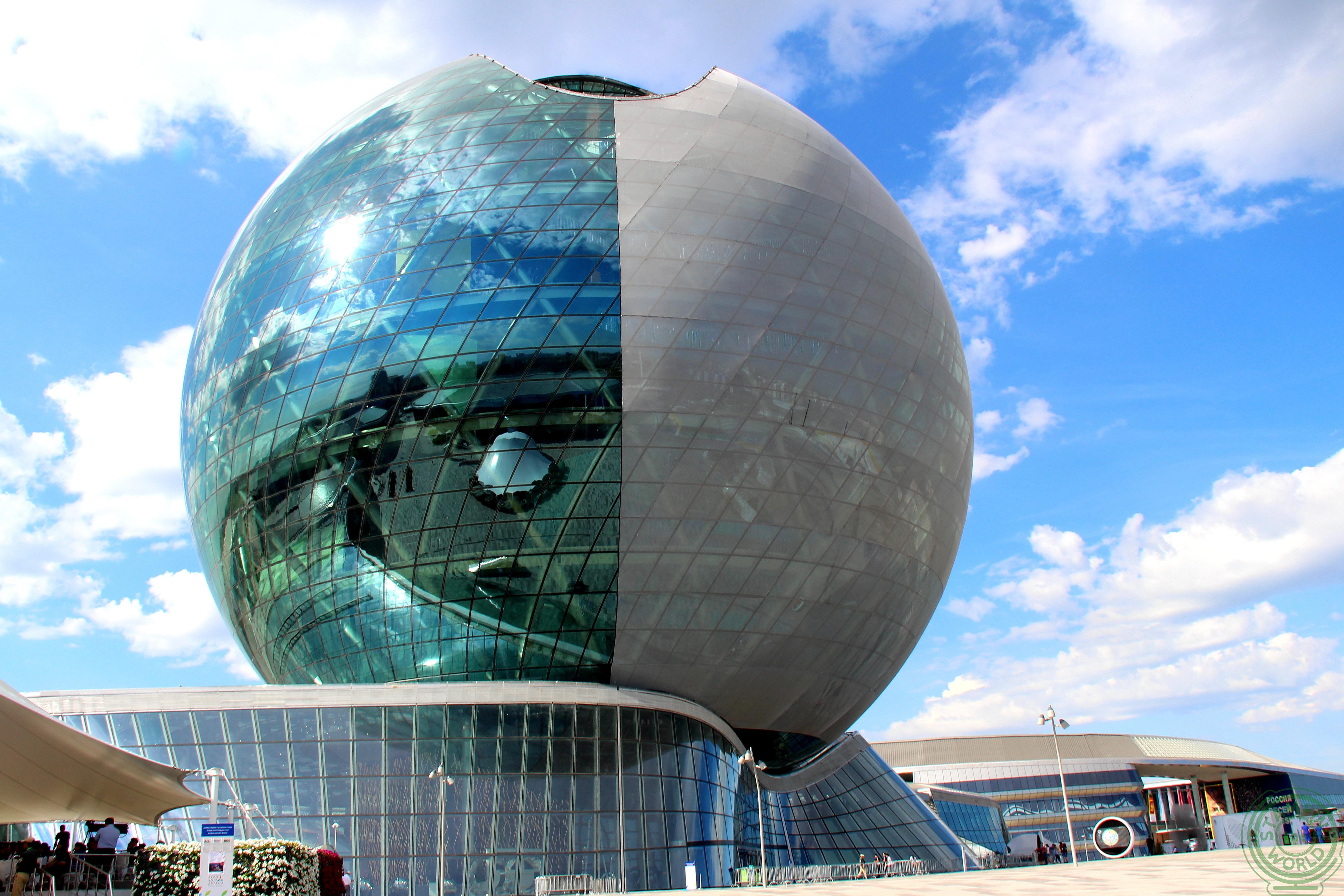Expo Astana 2017 - Il centro dell'esposizione