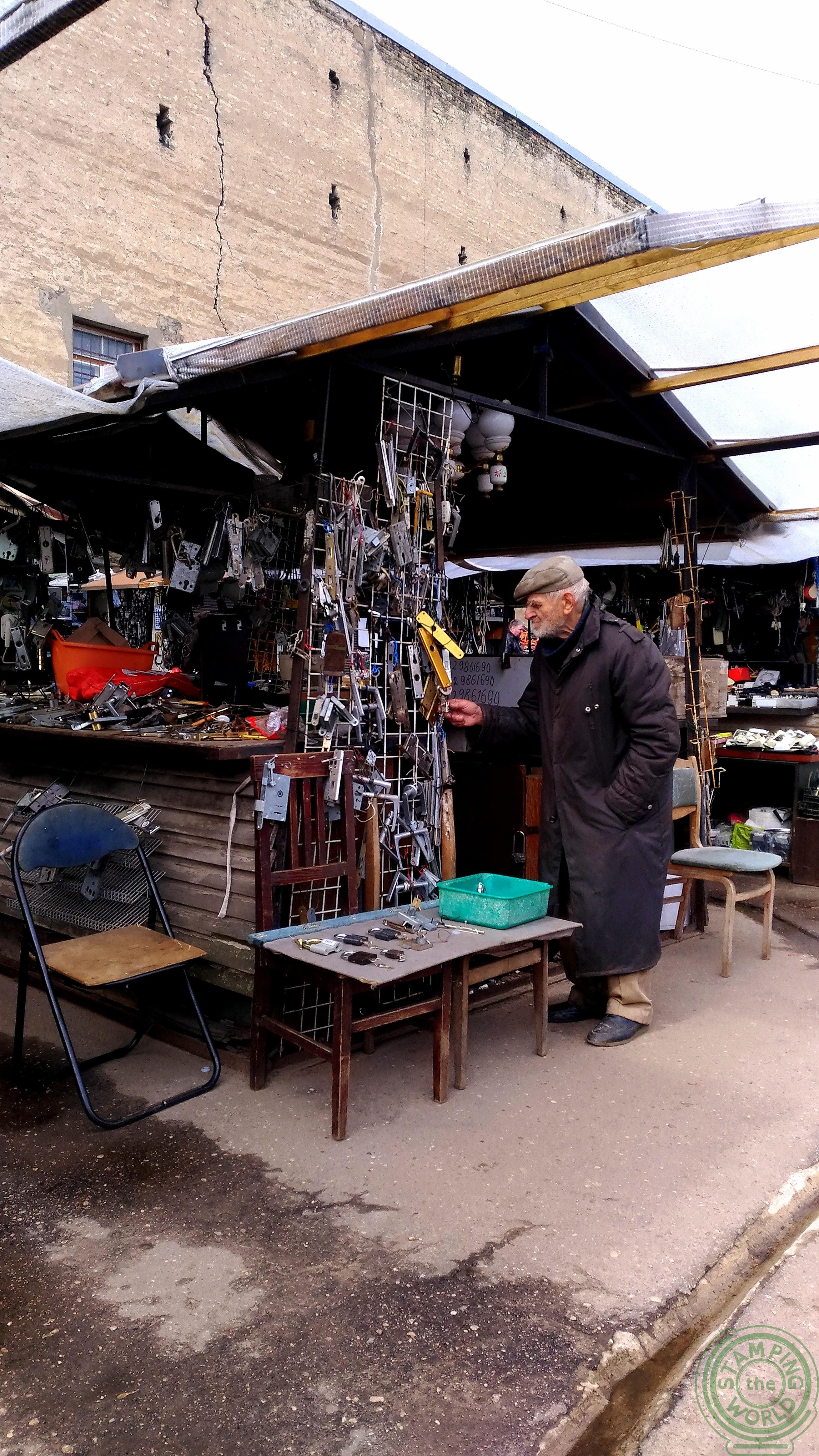 Il mercatino delle pulci - il quartiere russo di Riga