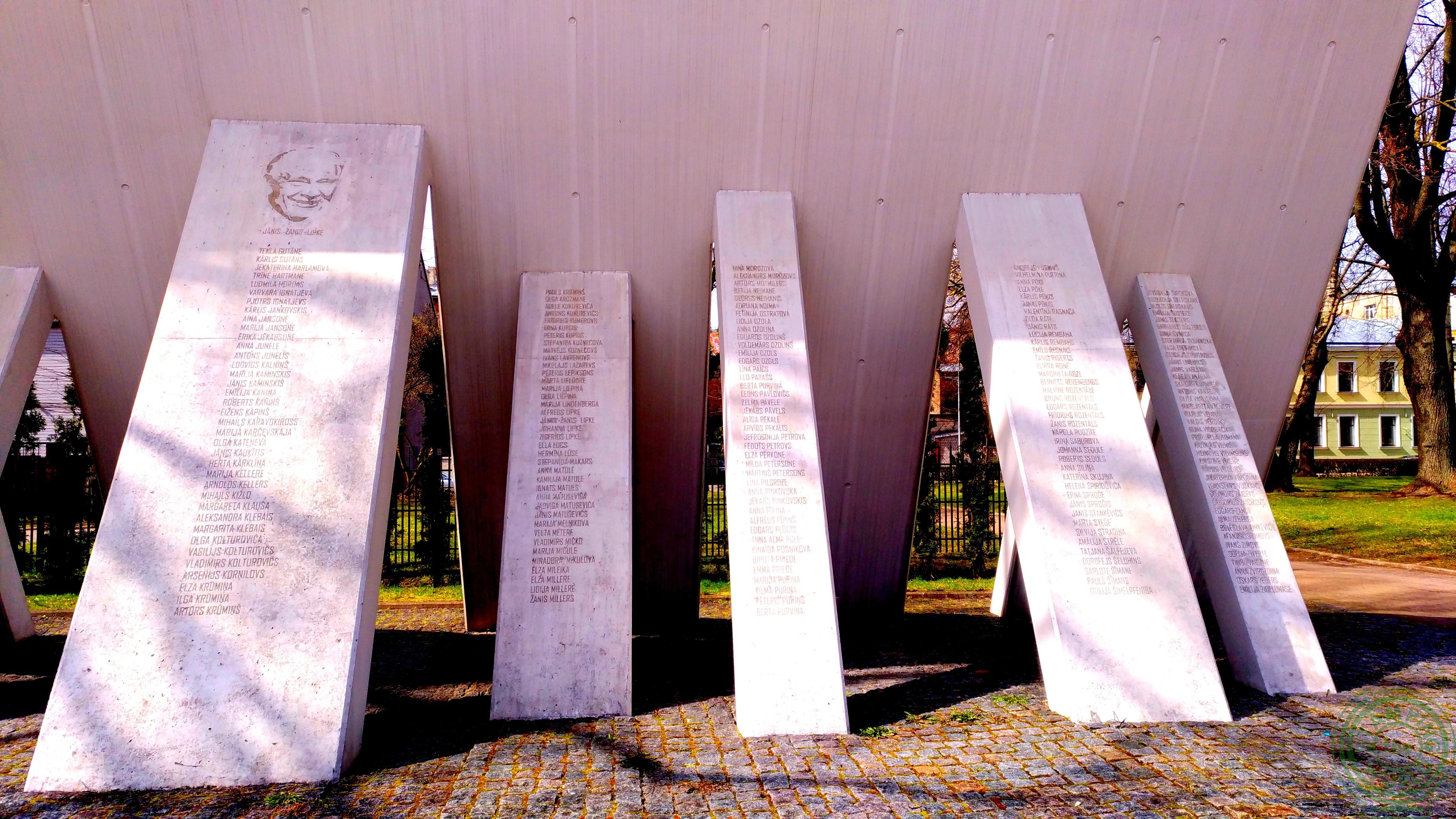Memoriale ebrei - il quartiere russo di Riga