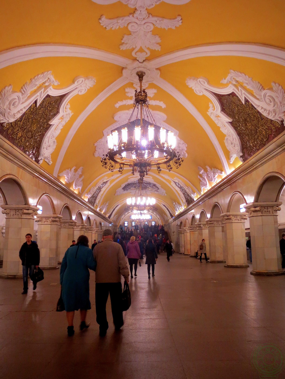 metro di Mosca - itinerario in Kazakistan