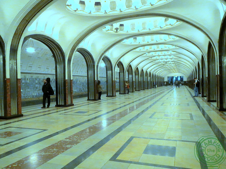 metro di Mosca - weekend