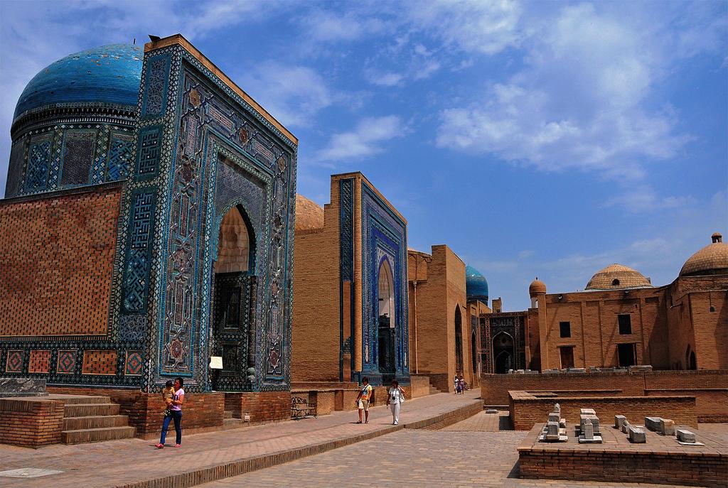 samarcanda - itinerario in Kazakistan