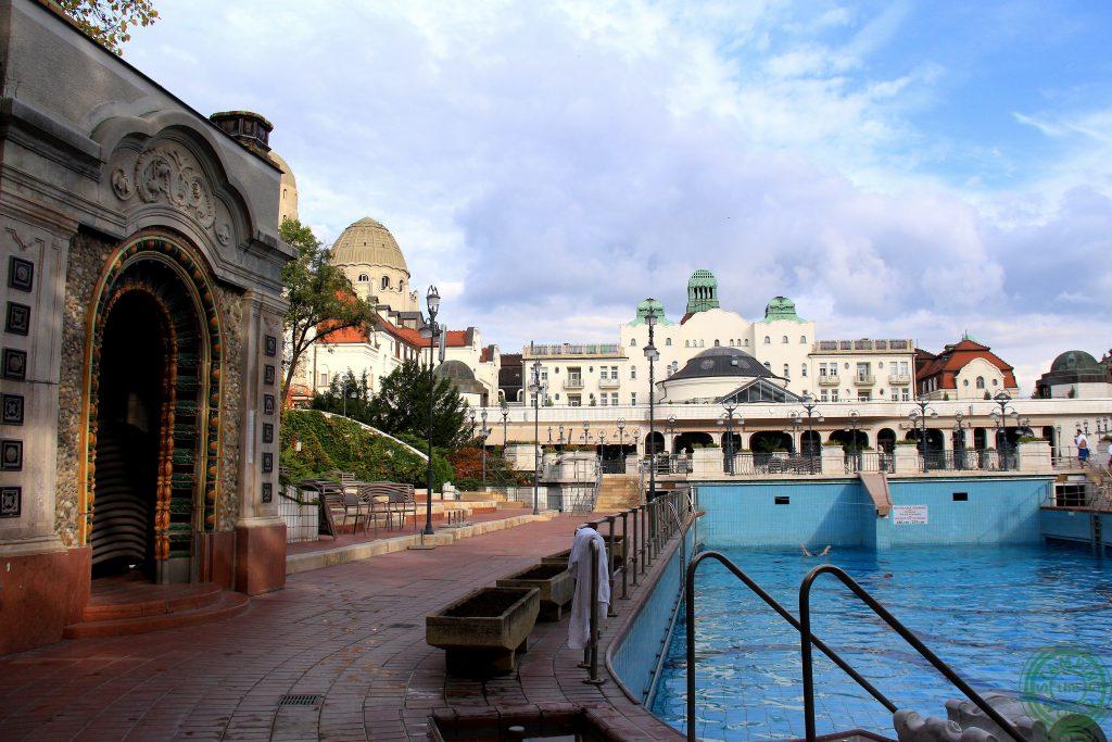 gellert esterno - terme di Budapest