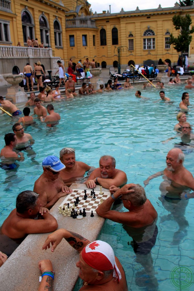 Szecheny  scacchi- terme di Budapest