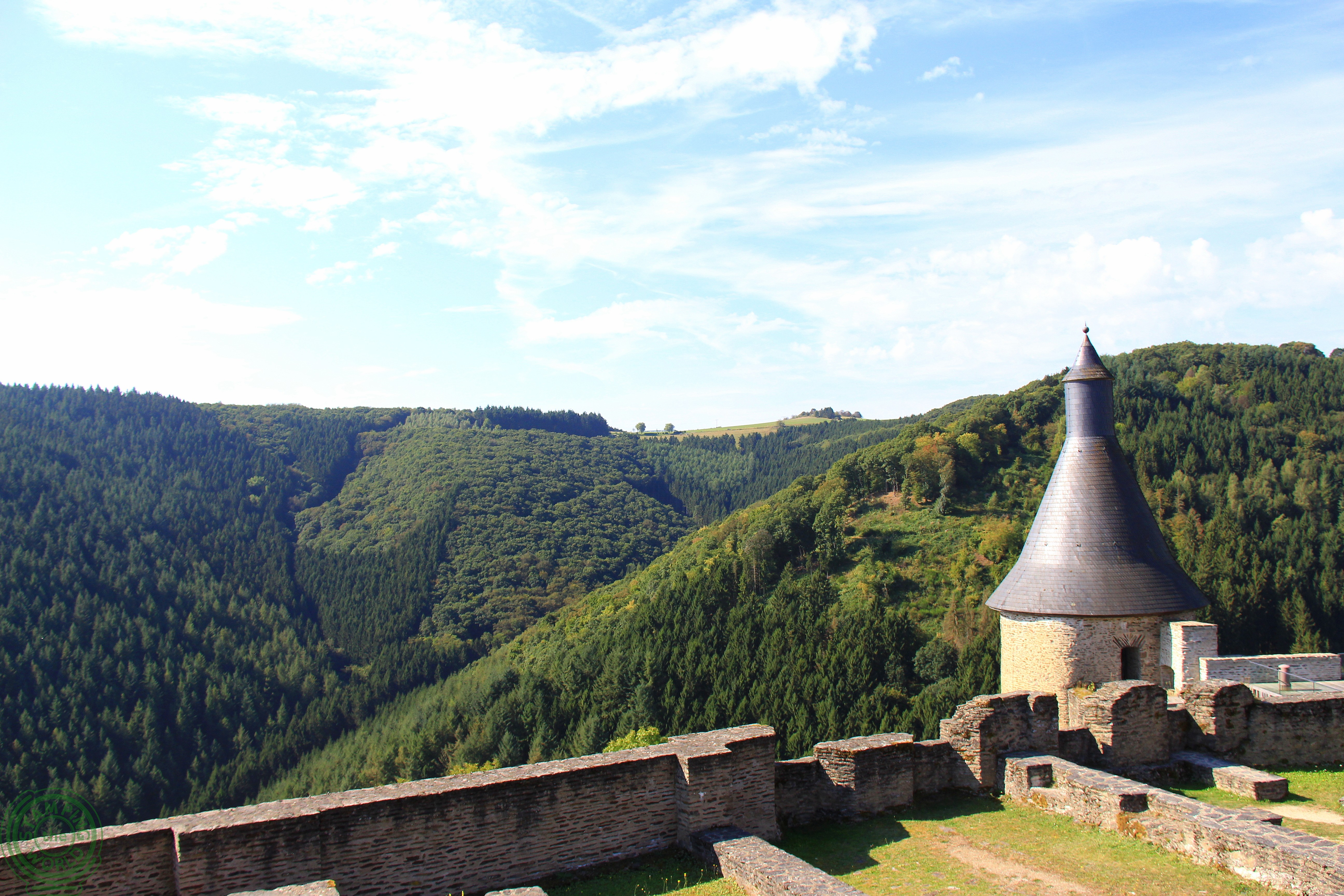 Bourscheid - castelli del Lussemburgo