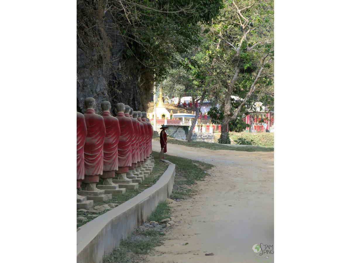 7 - kaw ka thawng cave - hpa an myanmar