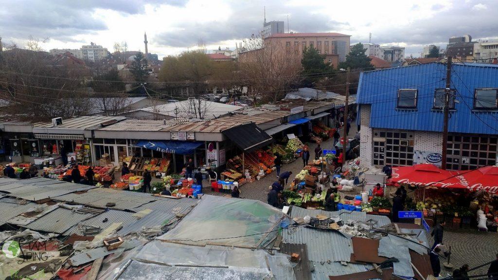 kosovo racconto di viaggio prishtina - Vista dalla mia stanza