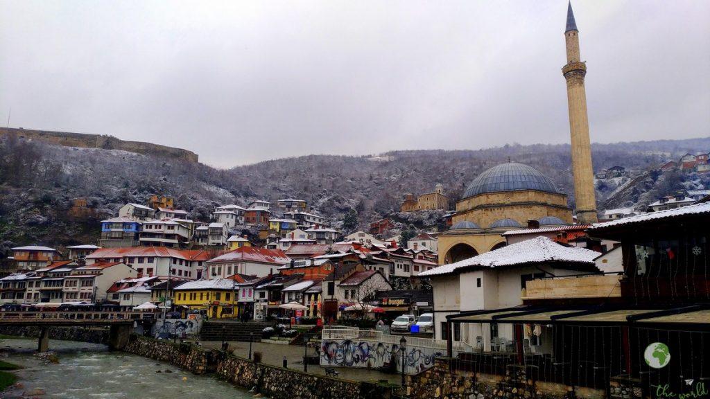 vista su Prizren- kosovo racconto di viaggio prishtina