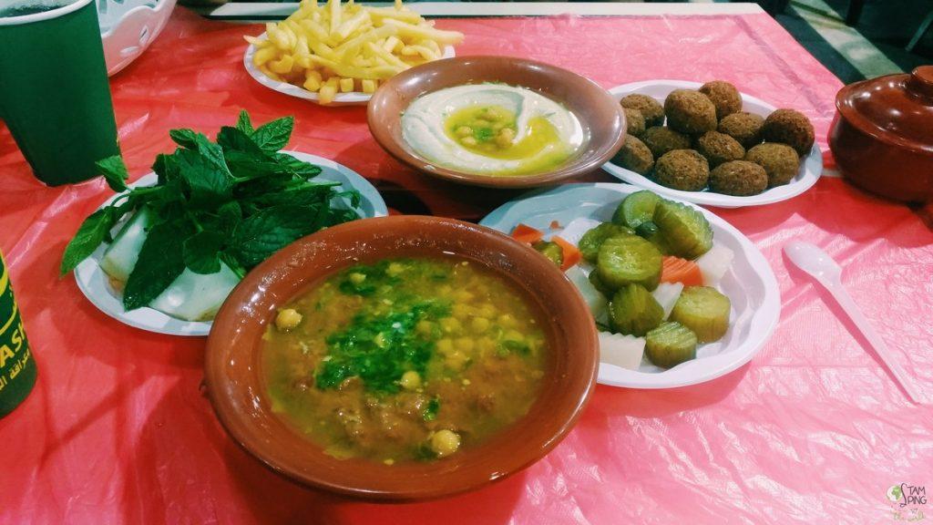 Falafel come organizzare un viaggio in Giordania