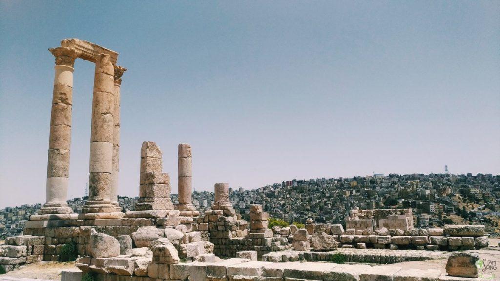 Cittadella di Amman come organizzare un viaggio in Giordania