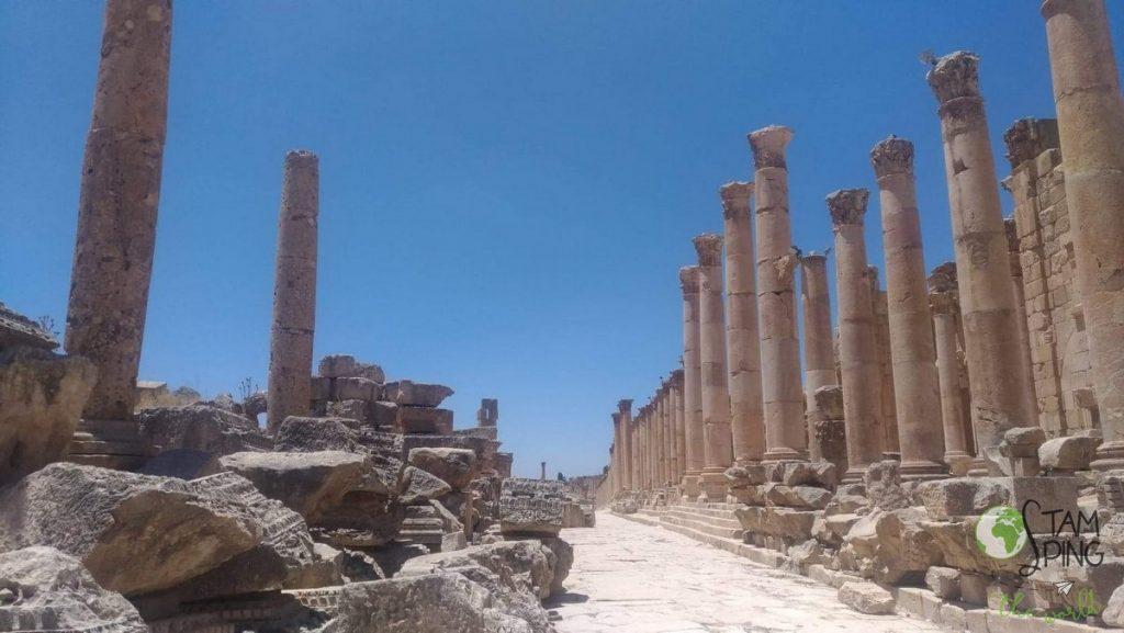 Jerash come organizzare un viaggio in Giordania