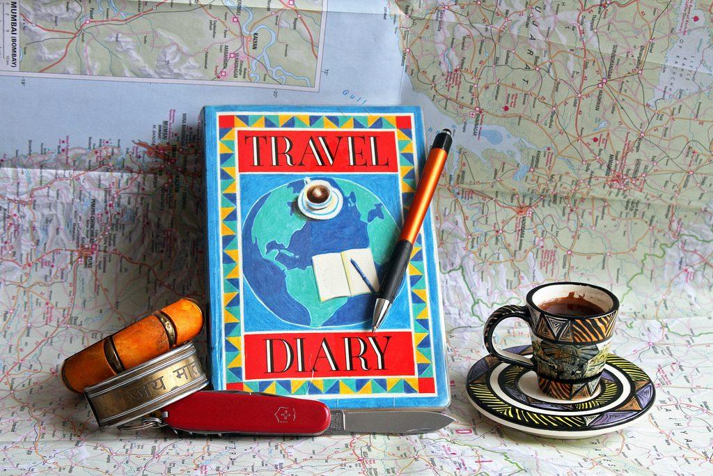 diario - accessorio di viaggio