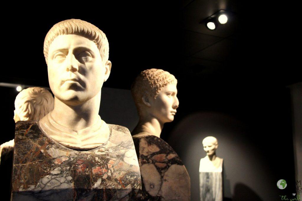 Palazzo Massimo alle Terme - Museo Nazionale Romano - Erme di aurighi