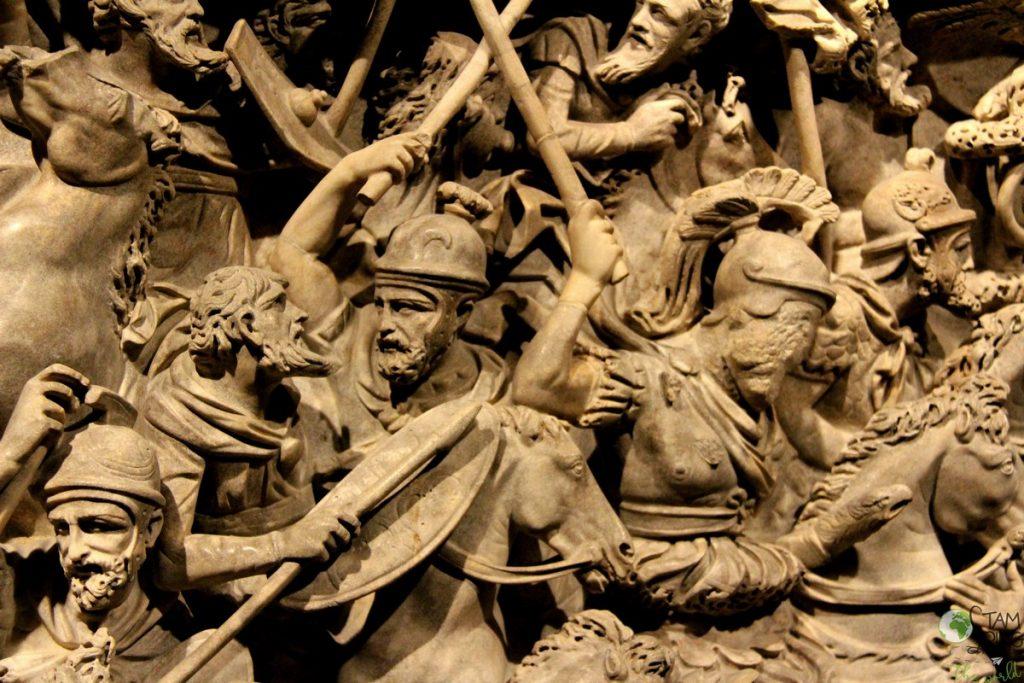 Palazzo Massimo alle Terme - Museo Nazionale Romano - sarcofago di Portonaccio
