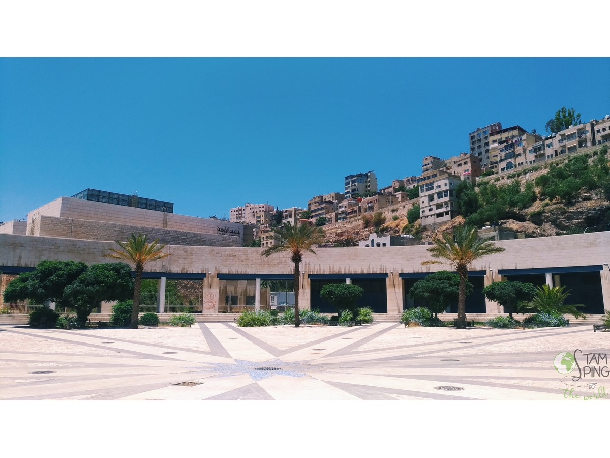 Entrata del Jordan Museum - Amman da scoprire