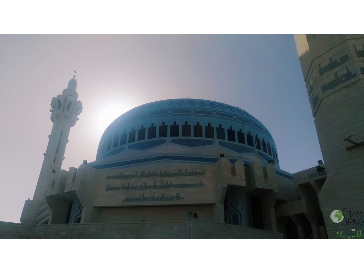 Moschea del Re Abdullah I - Amman da scoprire