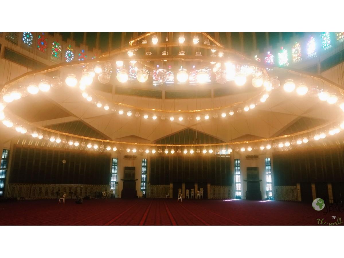 Interno della Moschea di re Abullah I - Amman da scoprire
