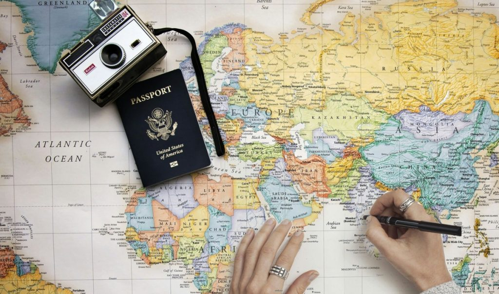 scegliere la destinazione - come organizzare un viaggio