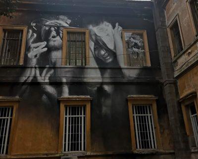 museo della mente murales